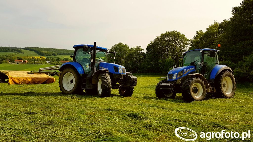 New Holland T6.120 New Holland T5.115