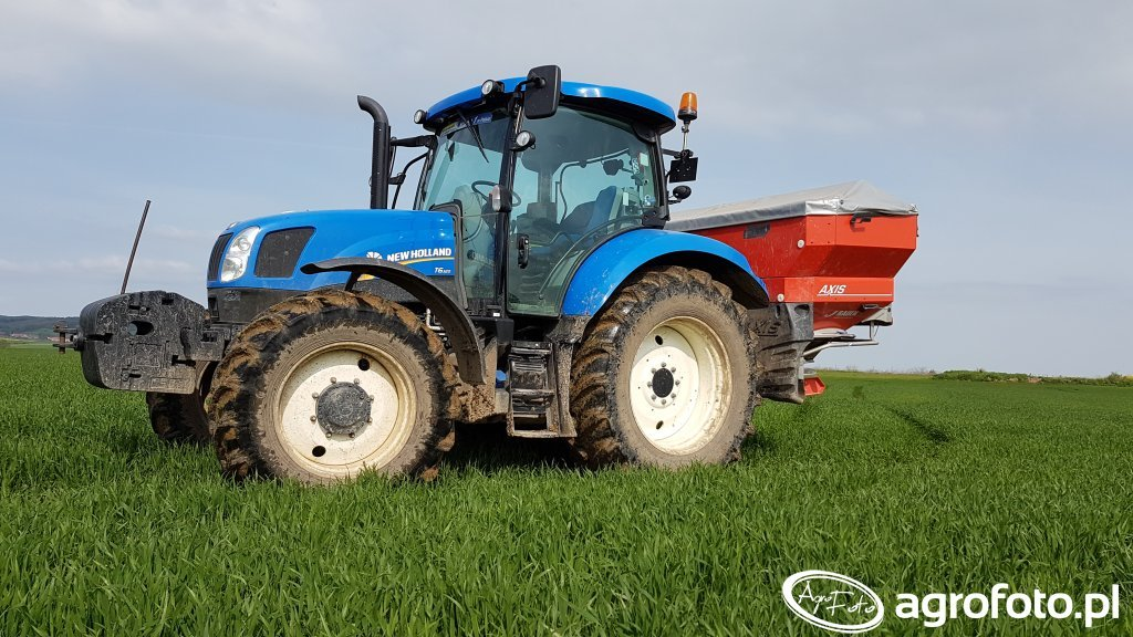 New Holland T6.120 Rauch Axis 30.1