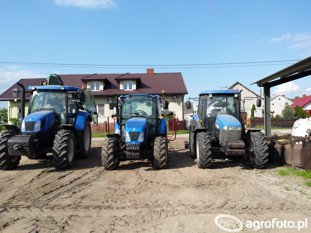 New Holland t6.140 td 80d t4.55