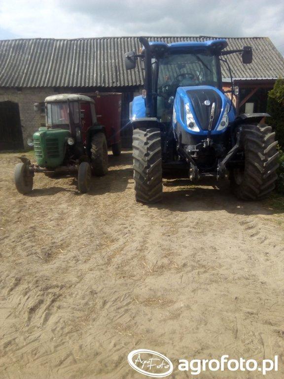 New Holland T6.145 & Zetor Major 3011