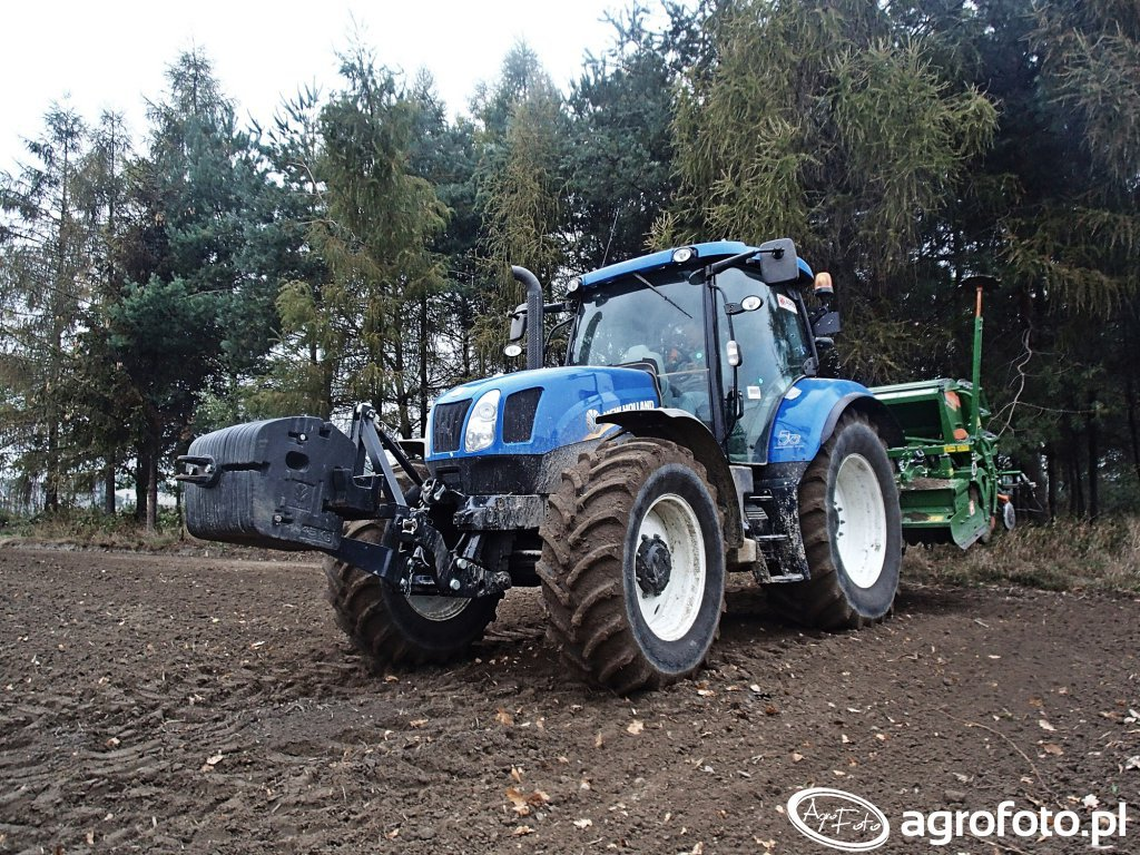 New Holland T6.165 & Amazone AD 3000 Special