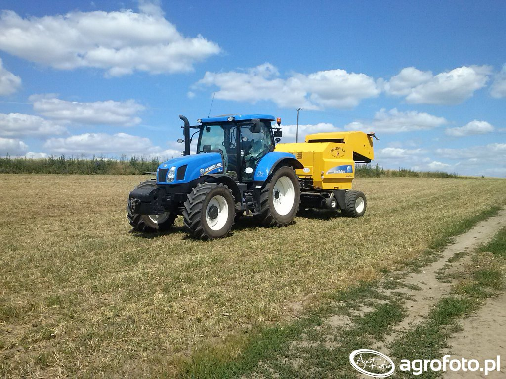 New Holland T6.175 & BR6090