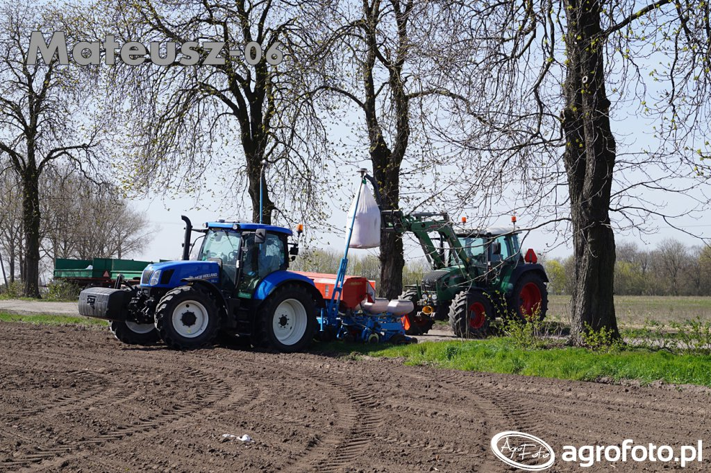 New Holland T6.175 & Fendt 312