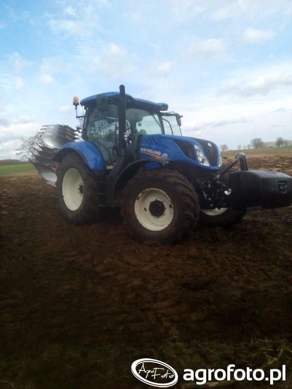 New Holland t6.175 + Kverneland EM 100