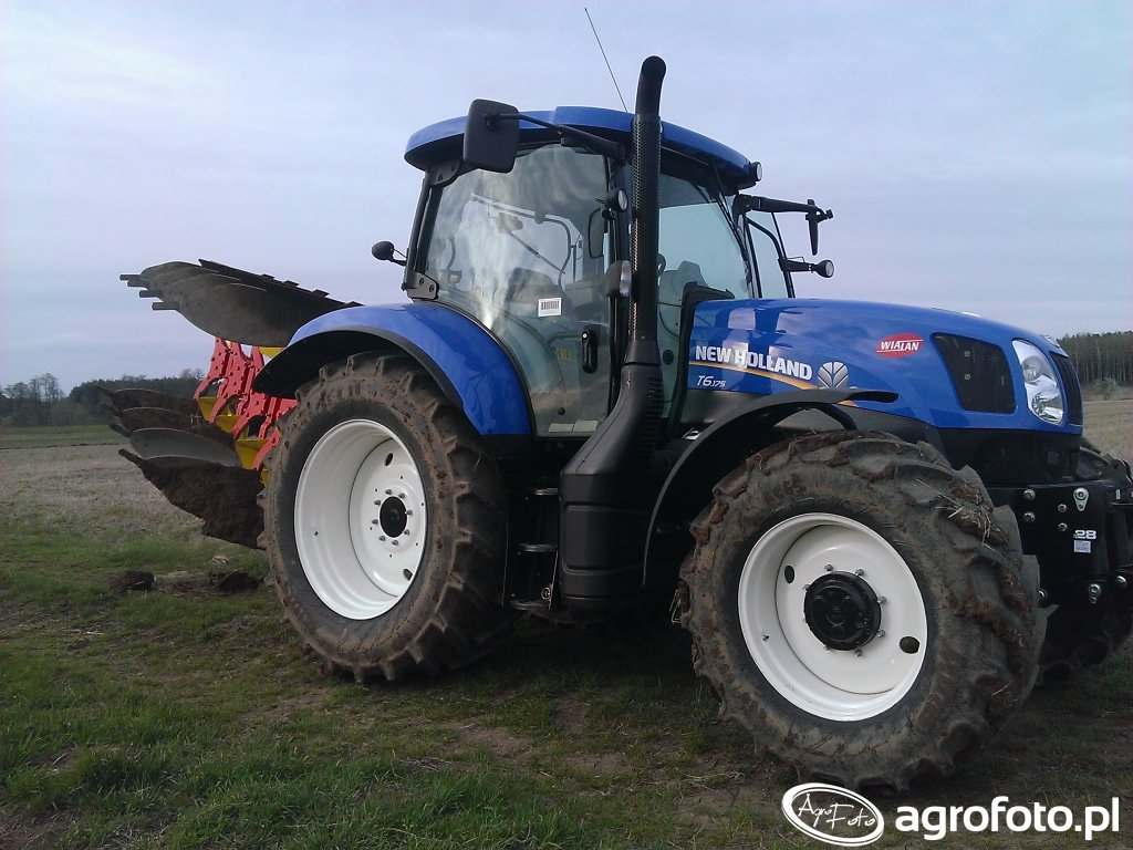 New Holland T6.175 - Testy