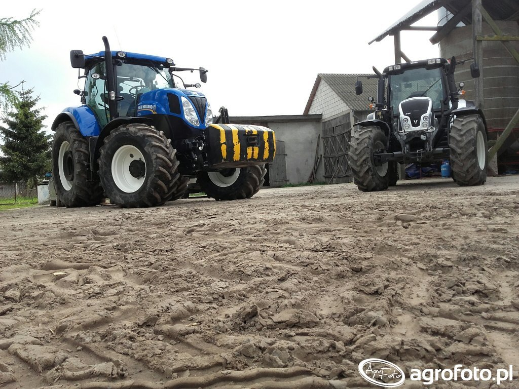 New Holland T7 170 i Valtra N123