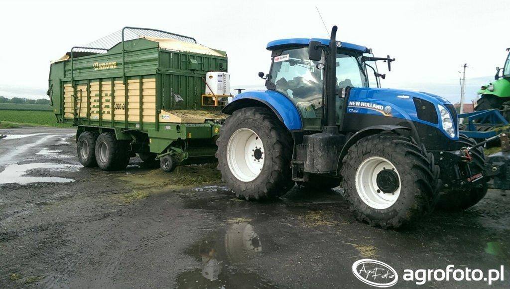 New Holland T7 200 i Krone AX 280 GD