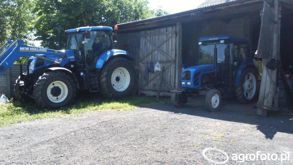New Holland t7 200 & Ursus C-360