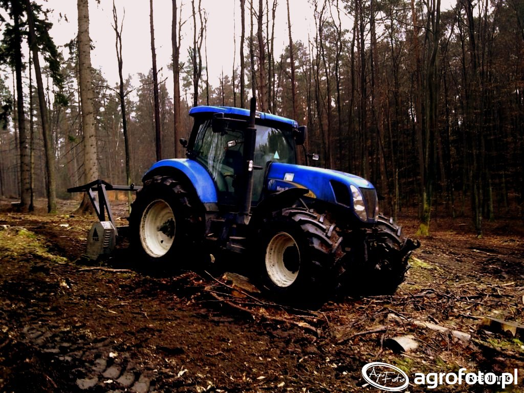 New holland t7030 & Fae