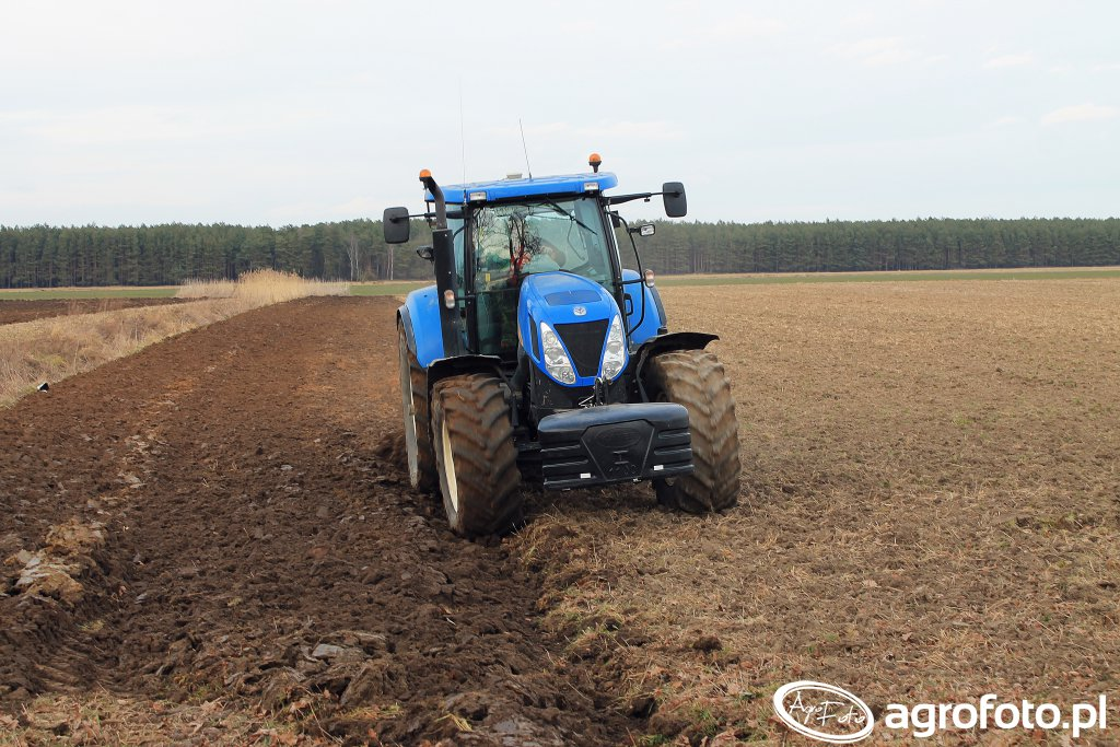 New Holland T7050 & RabeWerk 5