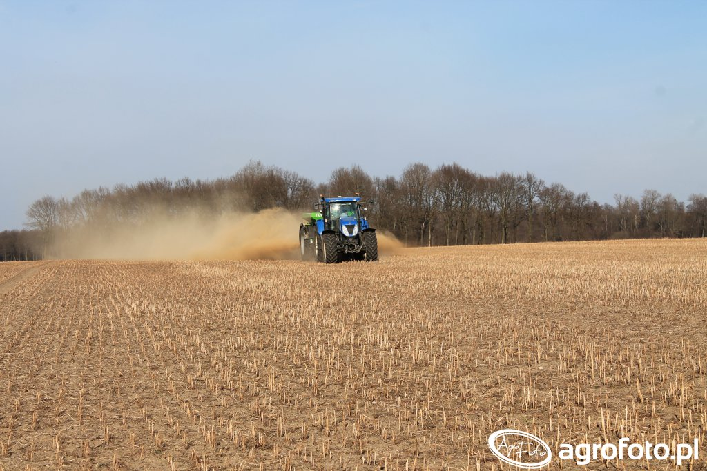 New Holland T7050 & RCW 5500 Plus