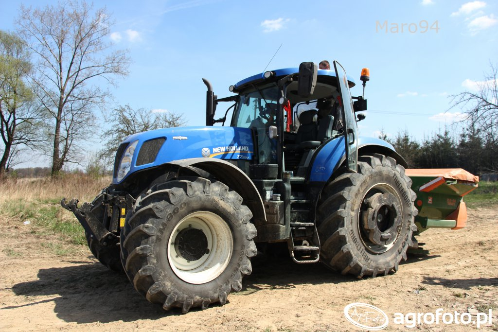 New Holland T7.220 + Amazone ZA-M 1501