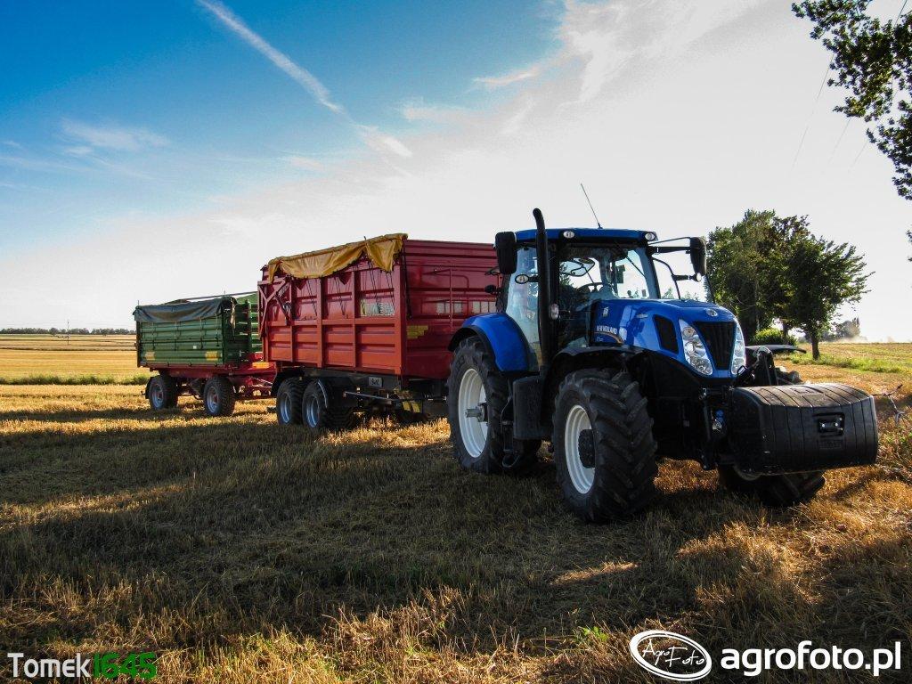 New Holland T7.220 & UMEGA, Metaltech DB 12