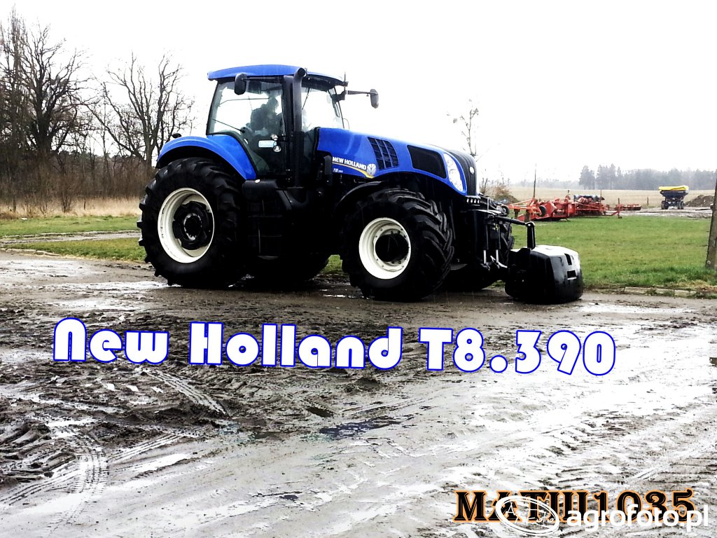 New Holland T8.390 :)