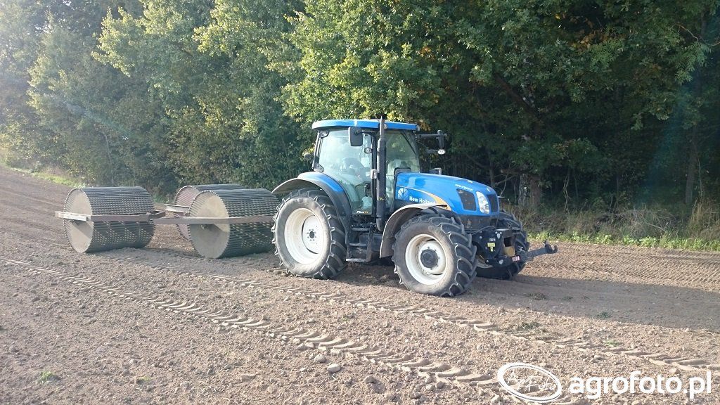 New Holland TC6070 + Wały
