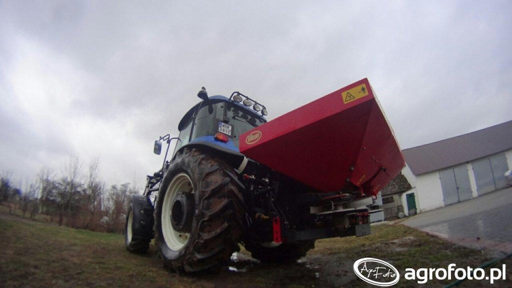 New Holland TD 5040 + Vicon RotaFLOW RSM