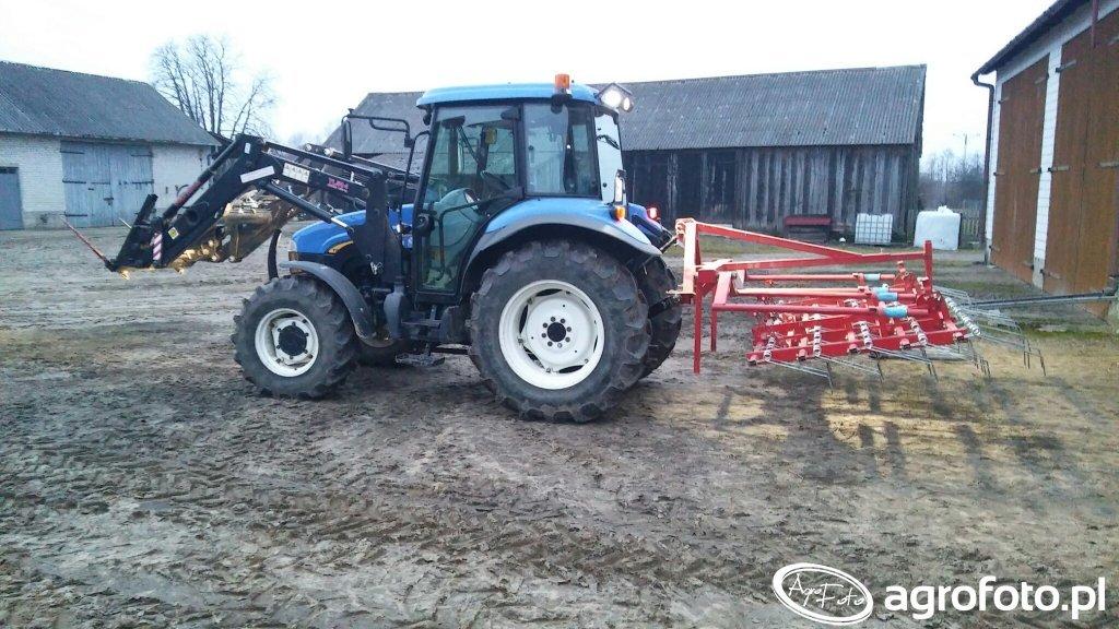 New Holland TD5020 + aktywator