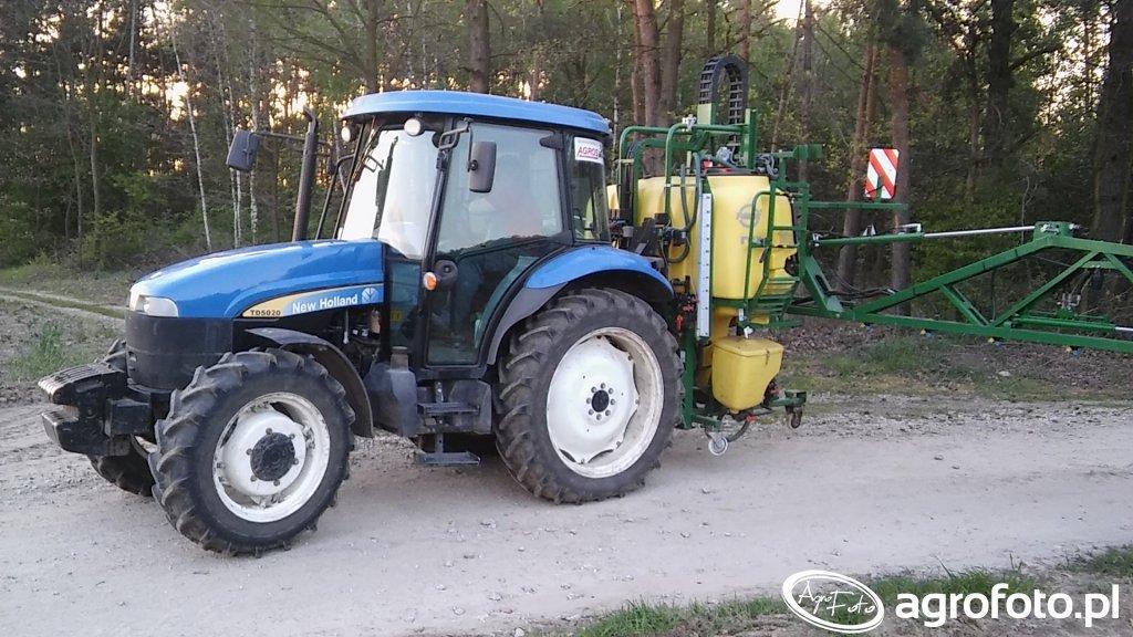 New Holland TD5020 & Pilmet REX 1020