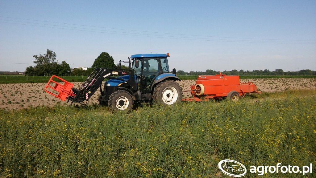 New Holland TD5020 & Sipma Z224/1