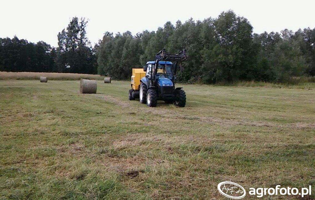 New Holland TD5020 \u0026 BR6090 CC