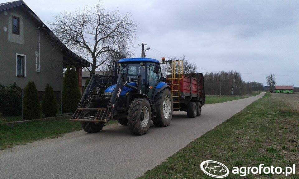 New Holland TD5030 & Metal Fach N267/1
