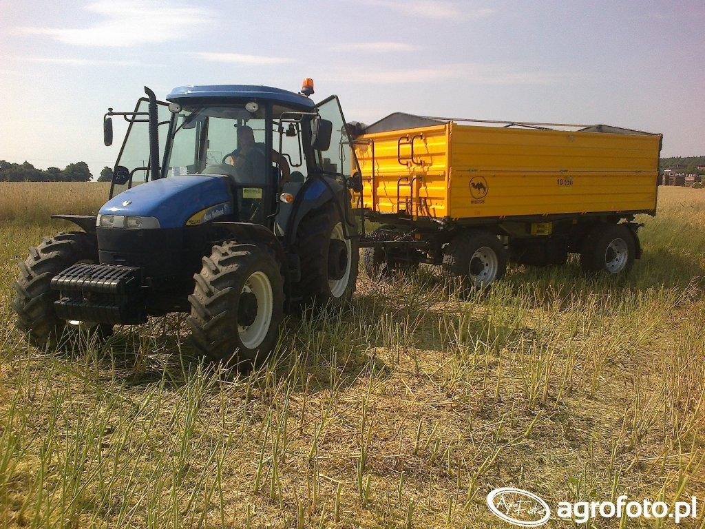New Holland TD5050 & Wielton 10t