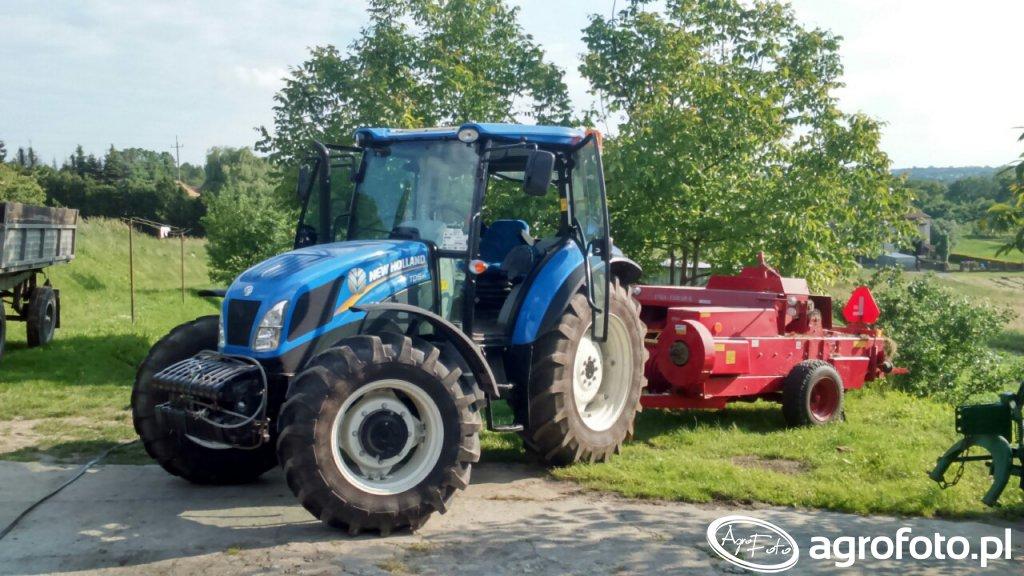 New Holland Td5.85 Unia famarol