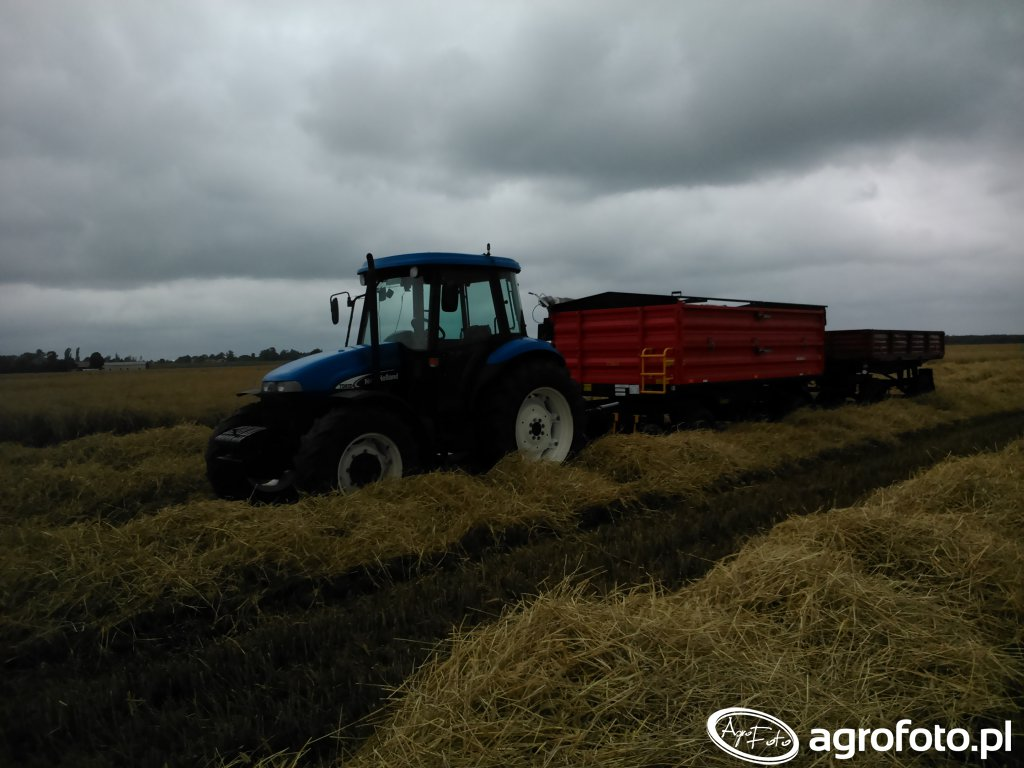 New Holland TD85D+Metal Fach T710/1+D47B
