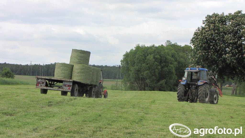 New Holland TD95D & Ursus 3512