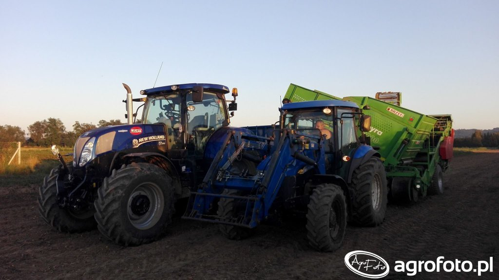 New Holland x2 & Pyra 3000