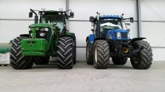 John Deere & New Holland