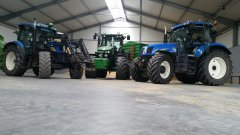 New Holland & John Deere