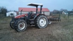New Holland L75 i talerzówka