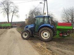 New Holland t4.55 + Brzeg MXL 1600