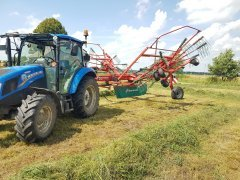 New Holland T4.55 Kverneland 9476c