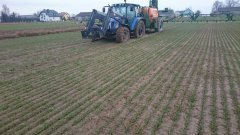 New Holland T5040 + Amazone UG 3000