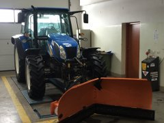 New Holland T5050 & kacper 2100