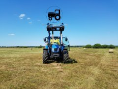 New Holland T5060 & BR6090