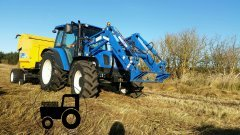 New Holland T5060&BR6090