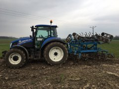 New Holland T5.105 & Agregat Mandam 4,3m