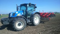 New Holland T6010 & Agregat 4.20