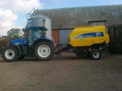 New Holland T6030 i BR7060 CC