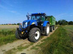 New Holland T6050 PC + Pronar