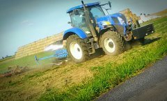 New Holland T6050 Power Command & Lemken 5skib + wał