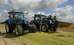 New Holland T6050 RC & New Holland TS125A Plus
