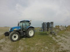 New Holland T6070 & Raptor KSE