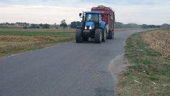 New Holland T6070 & Strautmann