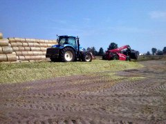 New Holland T6080 & MF 9407s