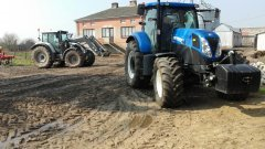 New Holland T7 170 & Valtra n123