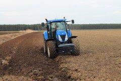 New Holland T7050 & RabeWerk 5
